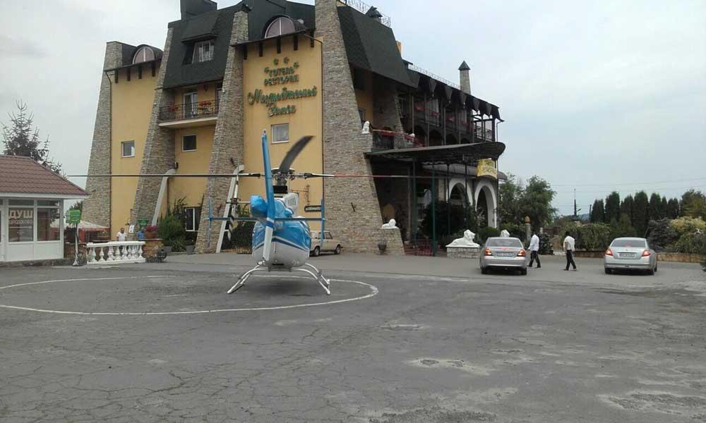Helipad (helicopter landing area)